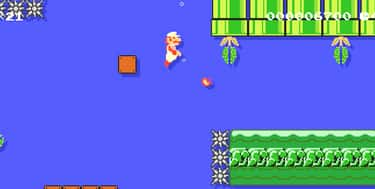 Can Shoot Fire Underwater Unde is listed (or ranked) 1 on the list Hilarious Examples Of Super Mario Logic That Makes No Sense