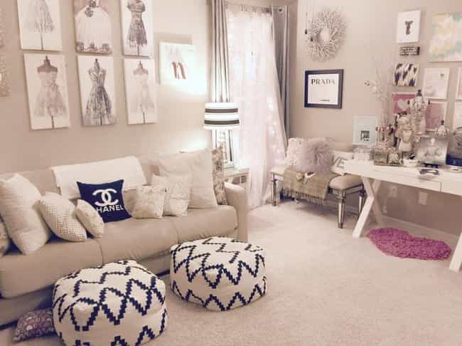 24 Beautifully Decorated Dorm Rooms That Will Make You Jealous