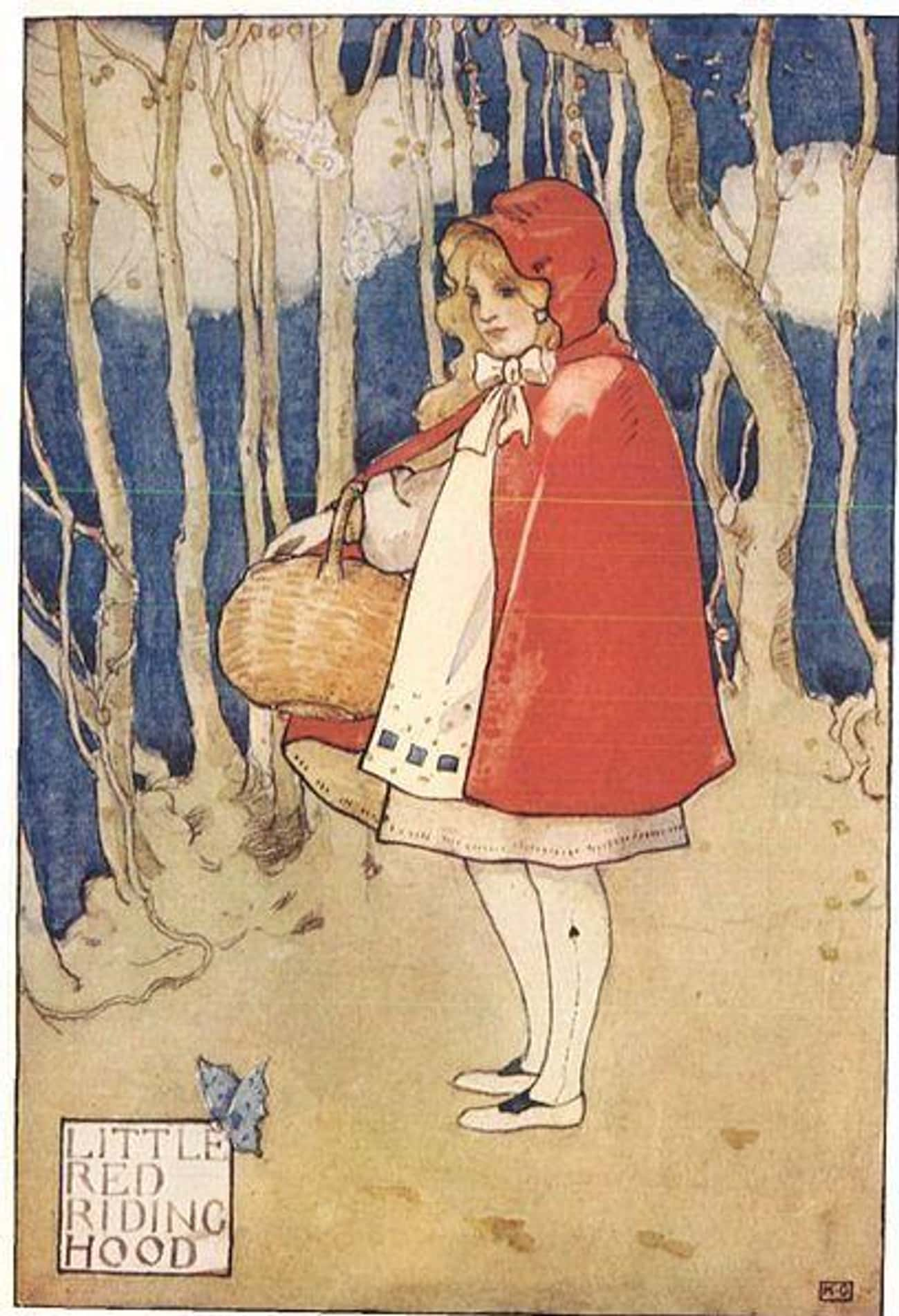 In Some Versions Of The Story, There Is No Little Red Riding Hood