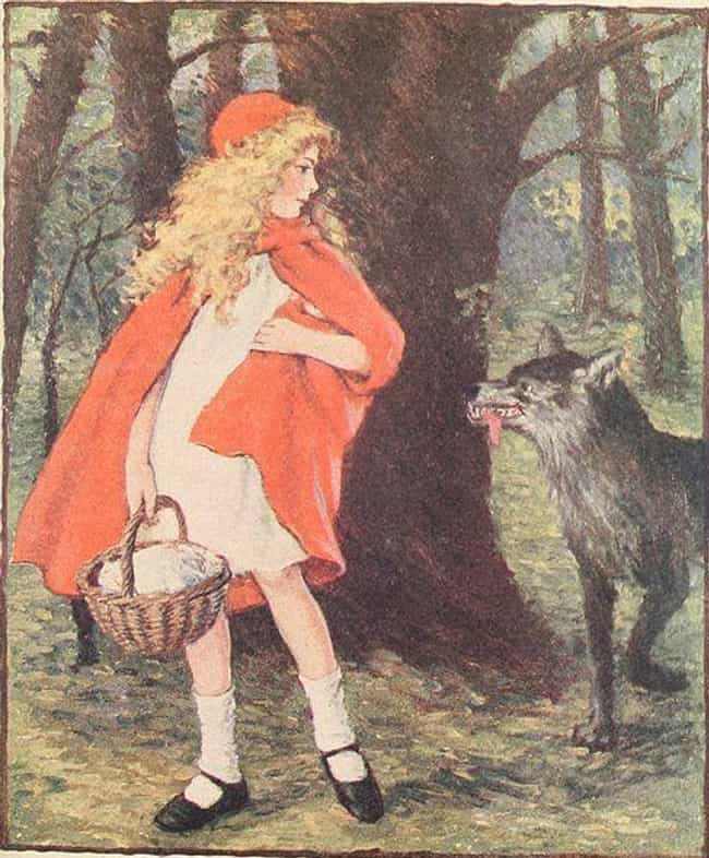 Once The Red Hood Appear... is listed (or ranked) 3 on the list In The Original Little Red Riding Hood, The Wolf Forced Her To Eat Her Grandma