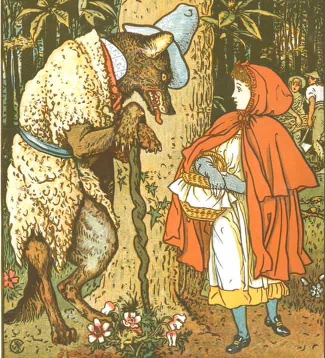 cf84b74b9 'Little Red Riding Hood' Is One Of The Oldest Fairy Tales Known, And It  Used To Be Extremely F*****-UP