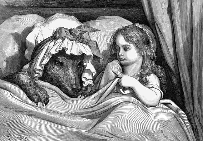 In The Original Version,... is listed (or ranked) 4 on the list In The Original Little Red Riding Hood, The Wolf Forced Her To Eat Her Grandma