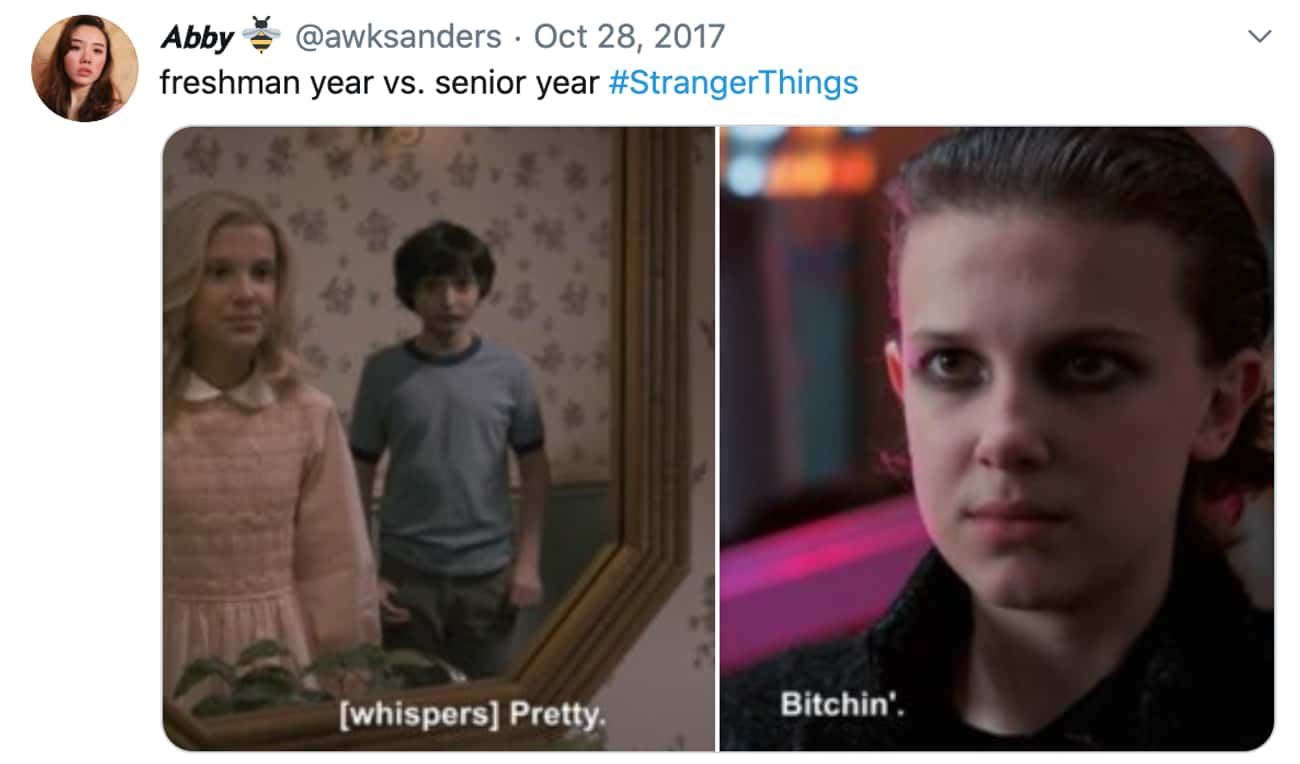 It's Been Quite The Transforma is listed (or ranked) 2 on the list Stranger Things Memes For Fans Who Like It Turned Up To Eleven