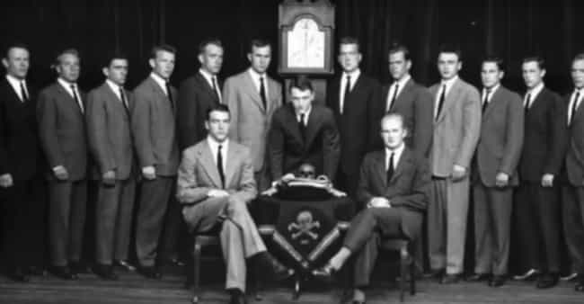"""The Initiation Has Allegedly I... is listed (or ranked) 1 on the list Inside Skull & Bones, The Elite """"Openly Secret"""" Society With Highly Influential Members"""