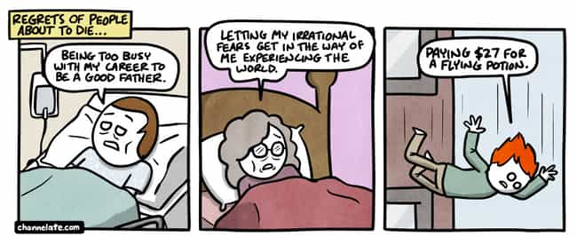 A Little Humor Before Death is listed (or ranked) 4 on the list These Comics From Channellate Are For Those Who Appreciate The Darkest Of Dark Humor