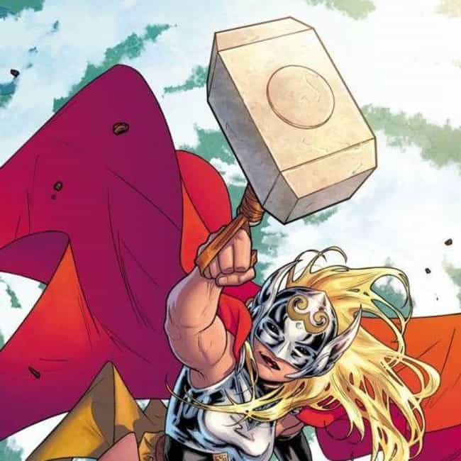 Mjolnir is listed (or ranked) 7 on the list The Most Powerful Weapons In The Marvel Universe, Ranked By Destructive Force
