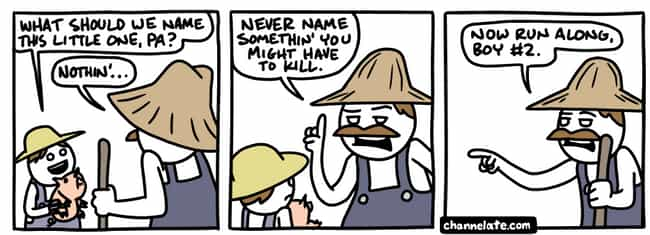 Pet Names is listed (or ranked) 1 on the list These Comics From Channellate Are For Those Who Appreciate The Darkest Of Dark Humor