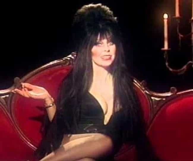 Elvira Was Birthed From ... is listed (or ranked) 1 on the list Everything You Never Knew About Elvira, Mistress Of The Dark And Where She Is Now
