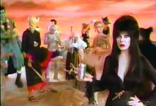 Elvira Was Featured In P... is listed (or ranked) 12 on the list Everything You Never Knew About Elvira, Mistress Of The Dark And Where She Is Now