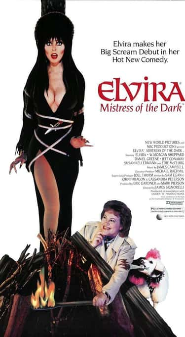 'Elvira, Mistress Of The D is listed (or ranked) 2 on the list Everything You Never Knew About Elvira, Mistress Of The Dark And Where She Is Now