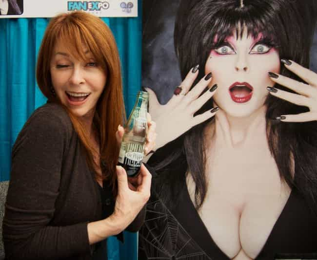 Now That She's Not Perfo... is listed (or ranked) 9 on the list Everything You Never Knew About Elvira, Mistress Of The Dark And Where She Is Now