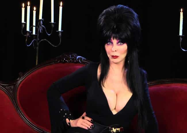 Elvira Is Queen Of The D... is listed (or ranked) 4 on the list Everything You Never Knew About Elvira, Mistress Of The Dark And Where She Is Now