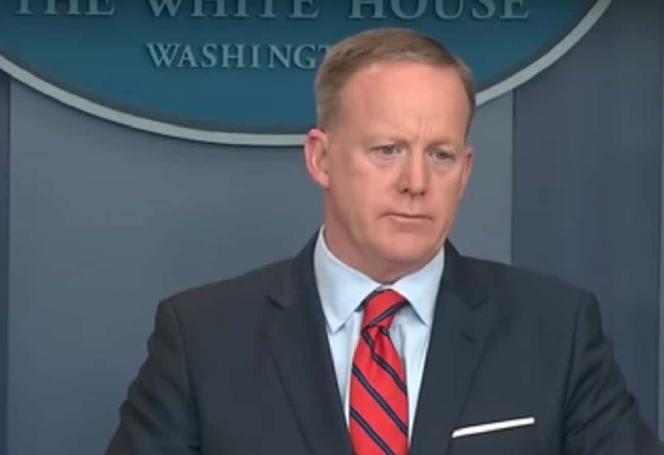 Sean Spicer Claims Hitler Neve is listed (or ranked) 1 on the list We Compiled Every Single Time A Trump Administration Official Got History Completely Wrong