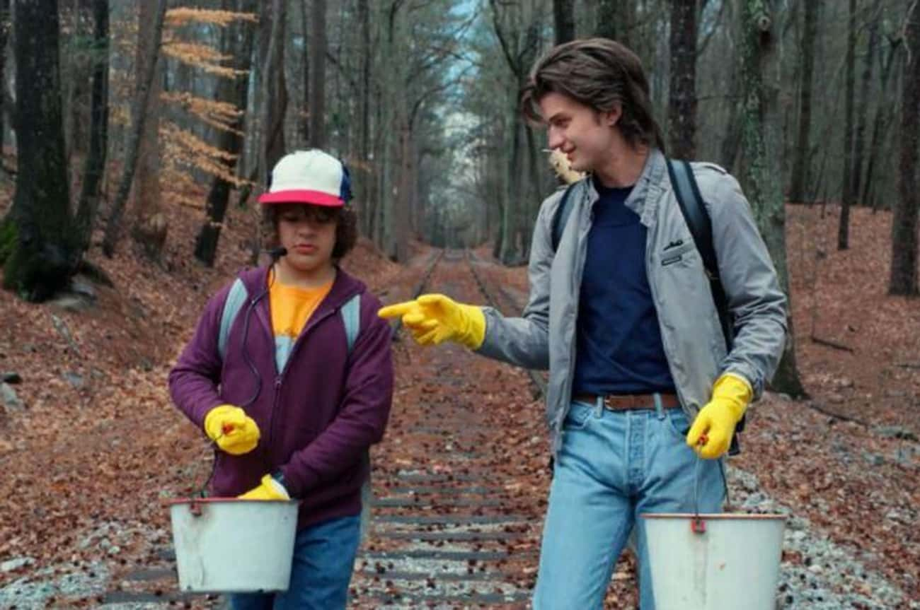 He Teams Up With Steve To Hunt is listed (or ranked) 2 on the list 10 Reasons Why Dustin Is The True MVP Of Stranger Things 2