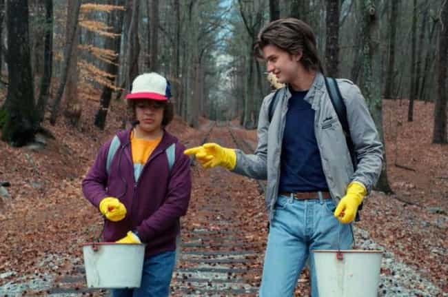 He Teams Up With Steve To Hunt... is listed (or ranked) 1 on the list 10 Reasons Why Dustin Is The True MVP Of Stranger Things 2