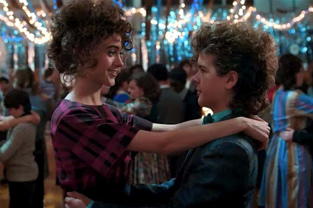 He Got To Dance With Nancy At  is listed (or ranked) 3 on the list 10 Reasons Why Dustin Is The True MVP Of Stranger Things 2
