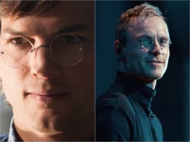 'Jobs' And 'Steve Jobs' ... is listed (or ranked) 4 on the list 15 Movies With Bizarrely Similar (And Specific) Plots That Came Out At The Same Time