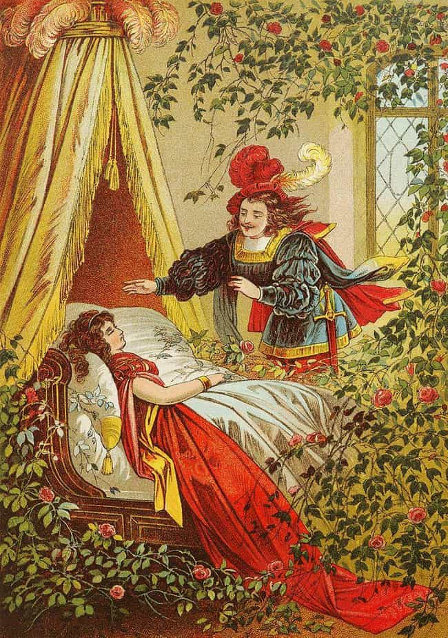 in the original sleeping beauty the king is a sexual harasser who