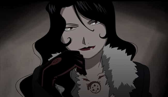 Lust's Character Arc Is More D... is listed (or ranked) 2 on the list 15 Reasons Why FMA 2003 Is Better Than FMA Brotherhood