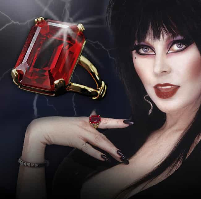 You Can Buy Her Elvira L... is listed (or ranked) 3 on the list Everything You Never Knew About Elvira, Mistress Of The Dark And Where She Is Now