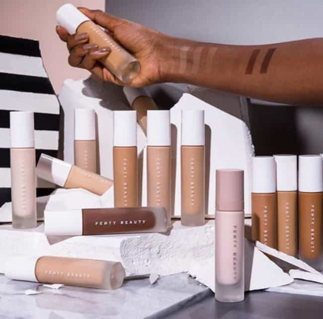 There Are 40 Different Shades ... is listed (or ranked) 2 on the list Why Rihanna's Fenty Beauty Line Is The Best Makeup Line You Can Buy Right Now