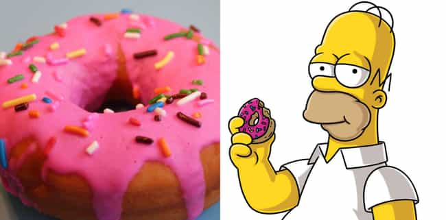 Homer Simpson's Donut From The... is listed (or ranked) 1 on the list You Can Totally Make Your Favorite Tasty-Looking Cartoon Foods IRL