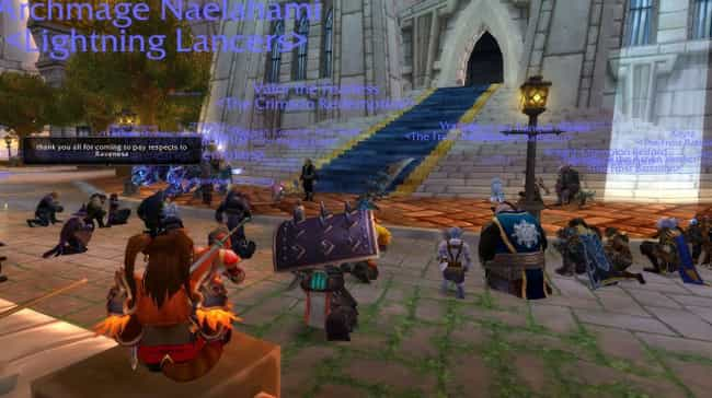 The Raid At A 'World Of Warcraft' Funeral