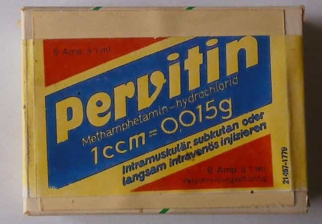 Pervitin Became So Popular, It... is listed (or ranked) 4 on the list Historians Now Think Rampant Meth Addiction Caused Hitler & The Nazis To Lose WWII