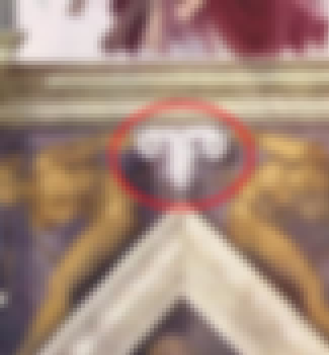 The Rams' Heads Are A Lot ... is listed (or ranked) 1 on the list Don't Tell The Pope: There's A Ton Of Forbidden Female Anatomy Imagery Hidden In The Sistine Chapel