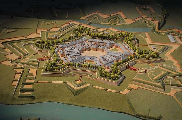 Charleroi, 1696