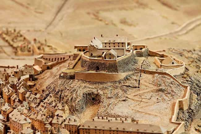 Briançon, City In The Cottian ... is listed (or ranked) 2 on the list Before Satellites, A French King Constructed Painstaking Miniatures Of Cities To Plan Wars