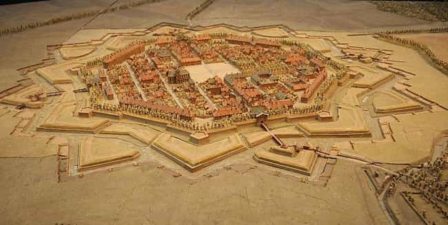 Fortress Neuf-Brisach, Alsace ... is listed (or ranked) 3 on the list Before Satellites, A French King Constructed Painstaking Miniatures Of Cities To Plan Wars