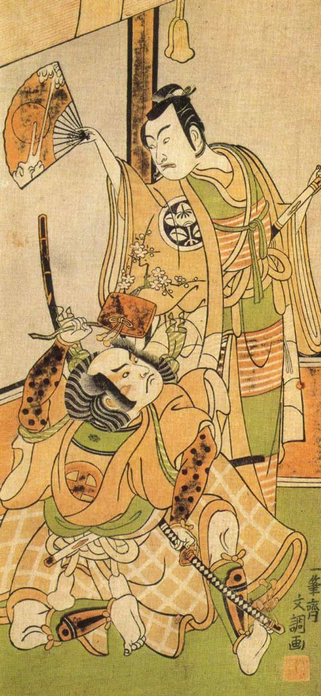 In Japan, Samurai Had Same-Gen... is listed (or ranked) 1 on the list So Apparently Ancient Samurai Hired A Secret Group Of Third-Gender Sex Partners