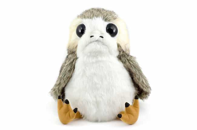 Porg Plushie is listed (or ranked) 2 on the list 19 Gifts For Your Friend Who's Way Too Excited For Star Wars: The Last Jedi