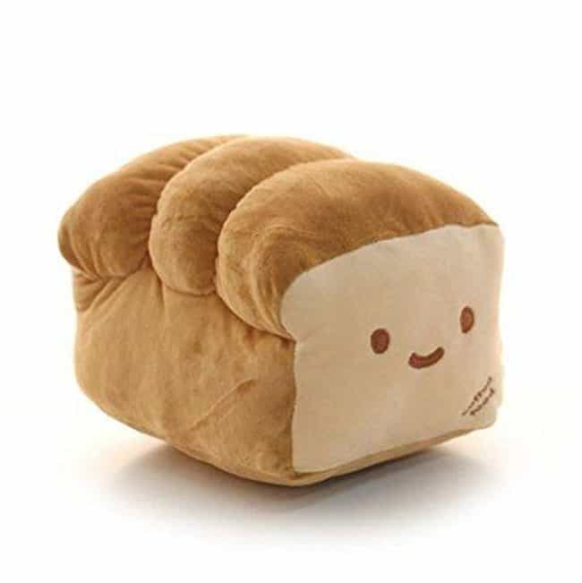 Bread Pillow is listed (or ranked) 1 on the list Deliciously Cute Food-Inspired Pillows You'll Want To Devour