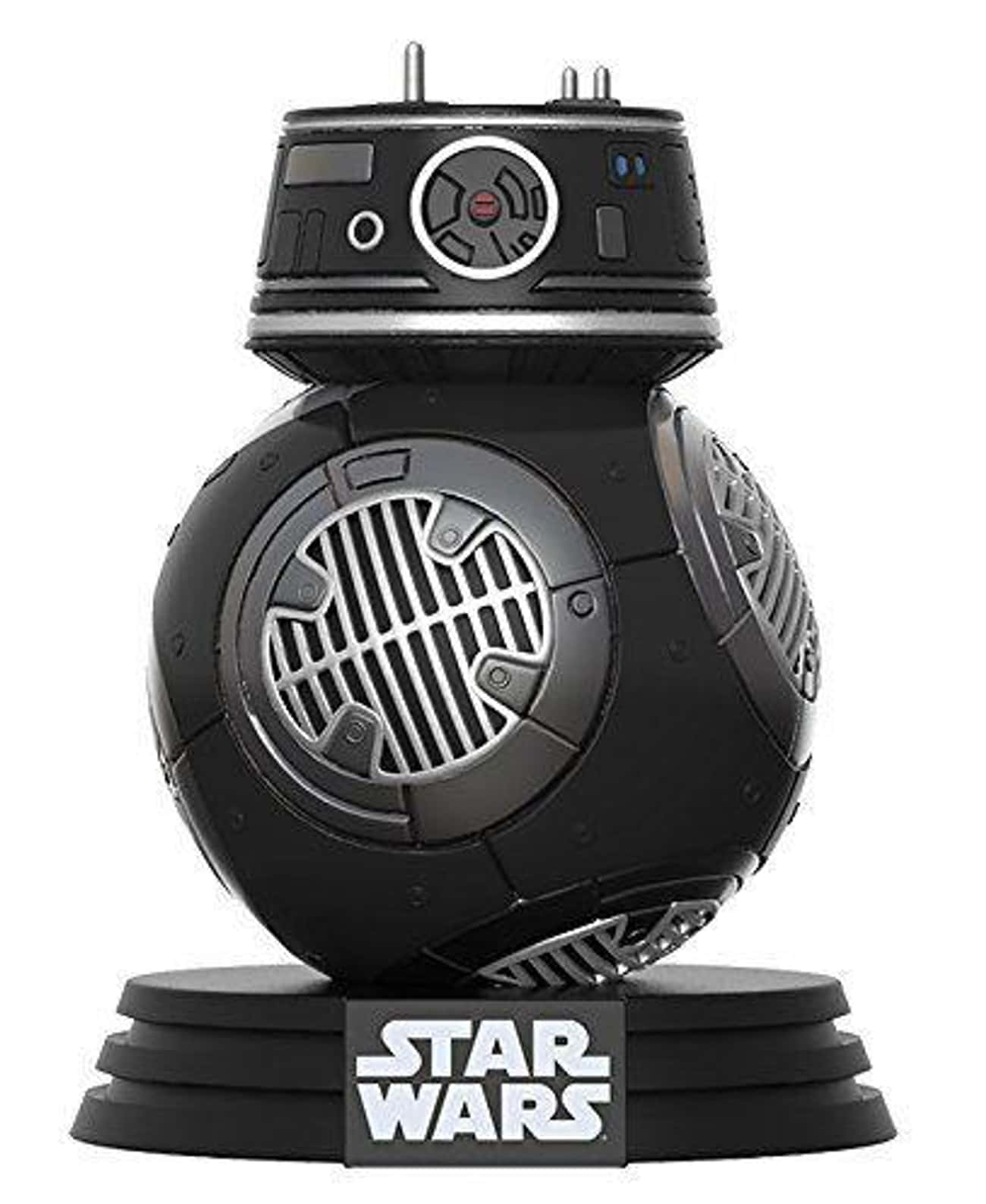 Funko Pop! BB- 9E Vinyl Figure is listed (or ranked) 4 on the list 19 Gifts For Your Friend Who's Really Into Star Wars: The Last Jedi