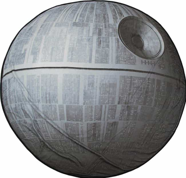 Death Star Fleece Blanket is listed (or ranked) 4 on the list 19 Gifts For Your Friend Who's Way Too Excited For Star Wars: The Last Jedi