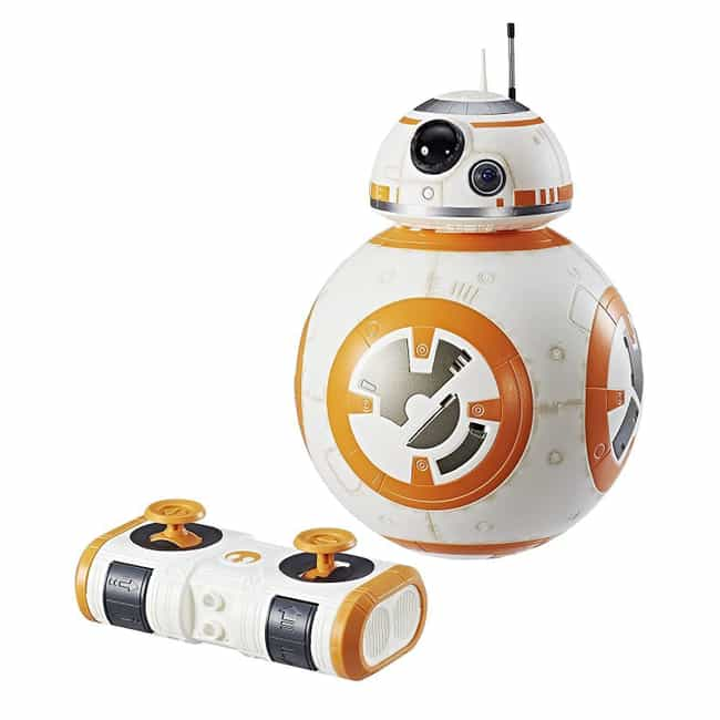 Hyperdrive BB-8 is listed (or ranked) 1 on the list 19 Gifts For Your Friend Who's Really Into Star Wars: The Last Jedi