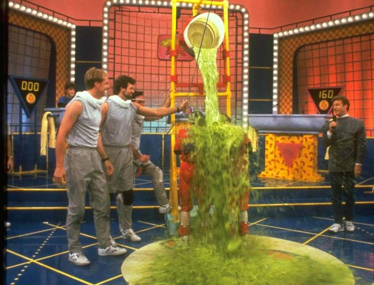 """The Set """"Smelled Like Deat is listed (or ranked) 1 on the list Apparently, Being A Contestant On Nickelodeon's Double Dare Was Utterly Disgusting"""