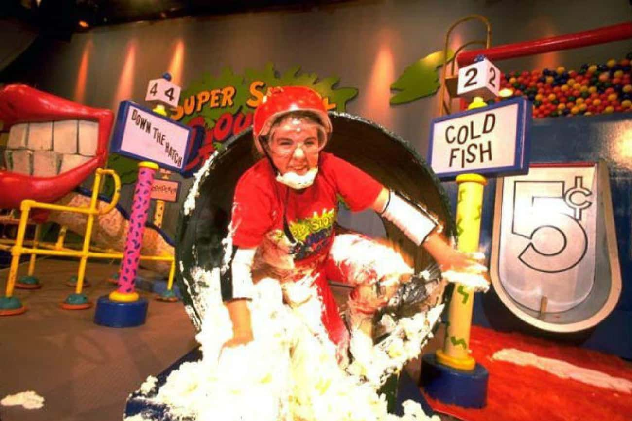 It Was Actually Very Dangerous is listed (or ranked) 3 on the list Apparently, Being A Contestant On Nickelodeon's Double Dare Was Utterly Disgusting