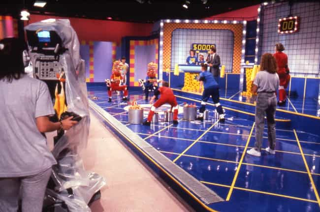 The Floor Was Beyond Fil... is listed (or ranked) 8 on the list Apparently, Being A Contestant On Nickelodeon's Double Dare Was Utterly Disgusting