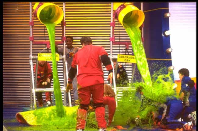 They Called Septic Trucks To C... is listed (or ranked) 4 on the list Apparently, Being A Contestant On Nickelodeon's Double Dare Was Utterly Disgusting
