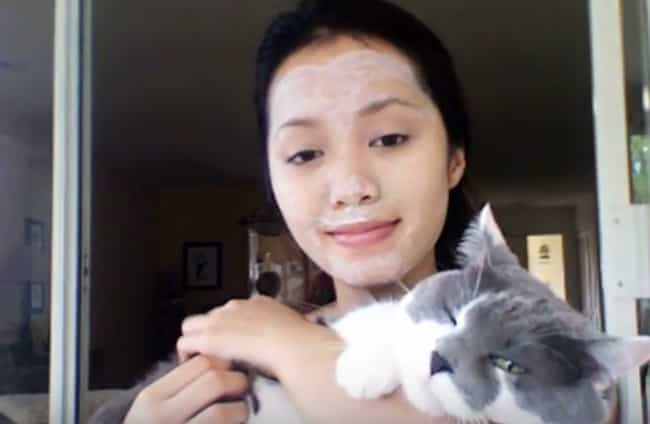 Michelle Phan's Kitty Li... is listed (or ranked) 1 on the list These Insanely Bizarre Facials May Or May Not Leave Your Skin Feeling Supple