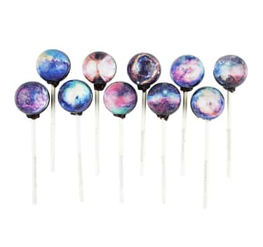 Sparko Sweets Planet Lollipops is listed (or ranked) 1 on the list Bizarre Candy You Won't Be Able To Find At Your Local Gas Station