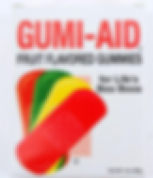 Gumi-Aid Band Aids is listed (or ranked) 4 on the list Bizarre Candy You Won't Be Able To Find At Your Local Gas Station