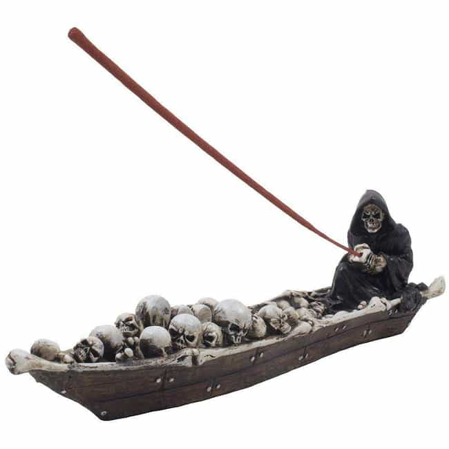 Home-N-Gifts Grim Reaper... is listed (or ranked) 4 on the list Unusual Gifts Perfect For People Who Love Any And All Things Creepy