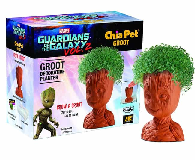 Chia Groot is listed (or ranked) 3 on the list Chia Pets Still Exist And You Won't Believe How Many Crazy New Ones There Are