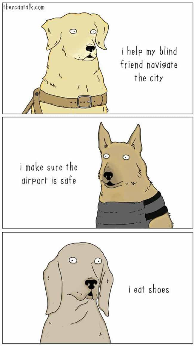 Work Like A Dog is listed (or ranked) 1 on the list 21+ Nature Comics That Will Make You Laugh, Even On A Monday