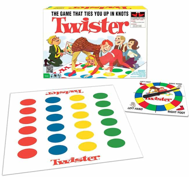 Twister is listed (or ranked) 4 on the list Retro Toys For Your Friend That Can't Stop Thinking About 'The Good Old Days'
