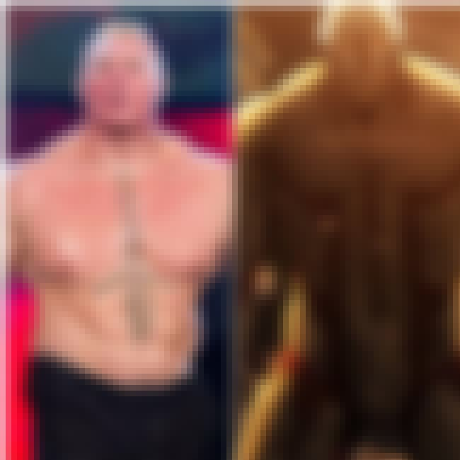 Brock Lesnar is listed (or ranked) 4 on the list 19 Real People That Inspired Anime Characters